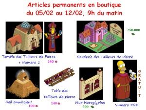 articles permanents