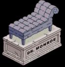 Pierre tombale du Dr Mavrin Monroe