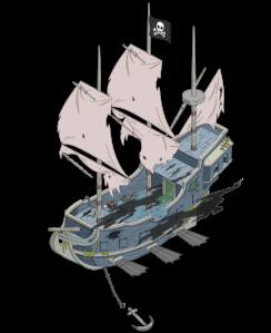 bateau pirate fantome