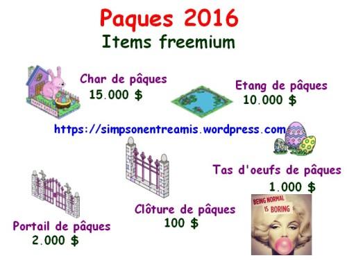 paques 2016 freemium