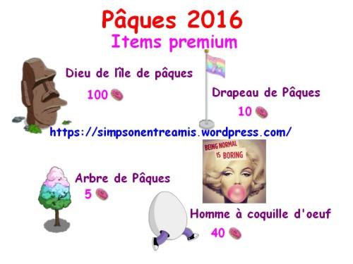 paques 2016 premium