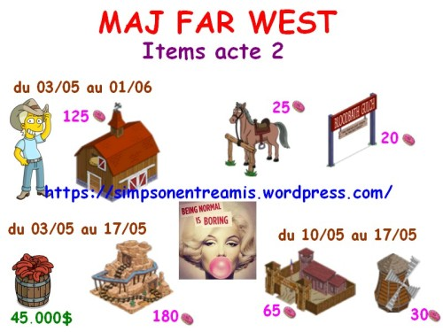 fw items acte 2