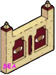 mur hiéroglyphe