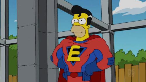 homer super heros