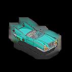 voiture volante des simpson