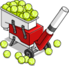 machine tennis