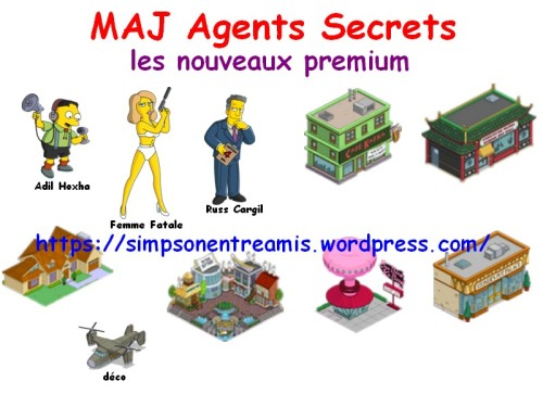 agents secrets nouveaux premium