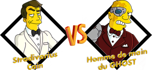 Tournoi Stradivarius VS Homme de main