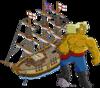 bateau pirate + pirate sexy