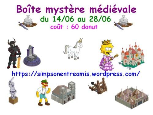 boite mystere medievale
