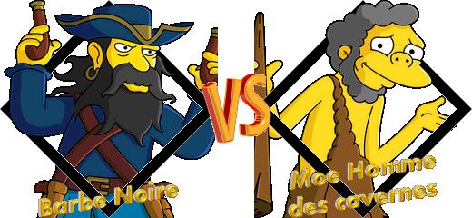 Tournoi Barbe Noire VS Moe Homme des cavernes