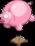 ballon cochon