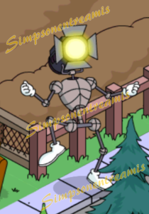 Robotdanseuràprojecteur