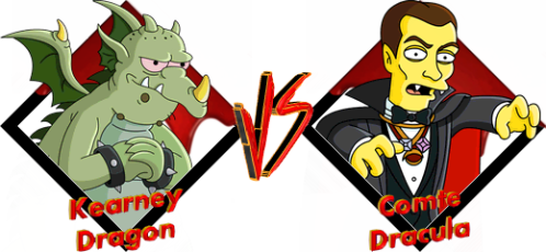 Tournoi Kearney Dragon VS Dracula