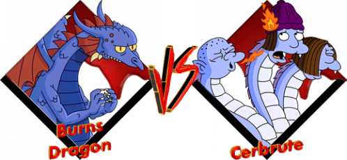 Tournoi Burns Dragon VS Cerbrute