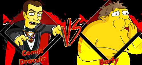 Tournoi Comte Dracula VS Barfy