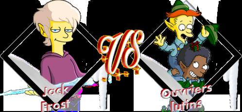 Tournoi Jack Frost VS Ouvriers lutins