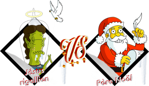 Tournoi Jésus rigellien VS Père Noël