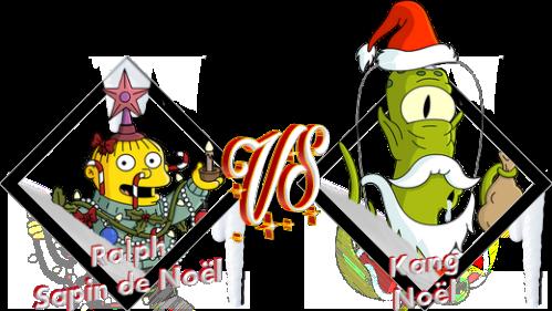 Tournoi Ralph Sapin de Noël VS Kang Noël