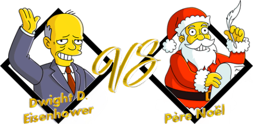 Match Dwight VS Père Noël