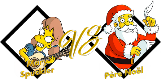 Match Mary VS Père Noël