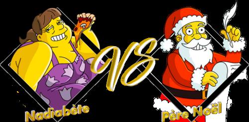 Match Nadiabète VS Père Noël
