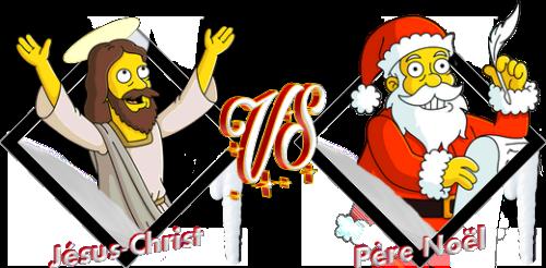 Tournoi Jésus-Christ VS Père Noël