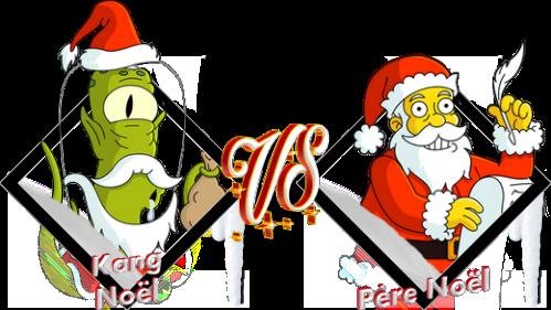 Tournoi Kang Noël VS Père Noël