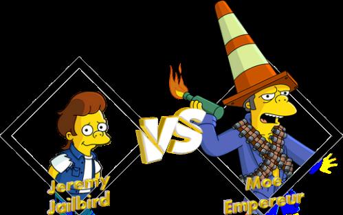 Tournoi Jeremy Jailbird VS Moe Empereur