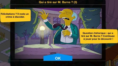 Qui a tiré sur M. Burns Guide Fin