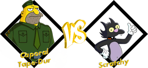 Tournoi Caporal VS Scratchy