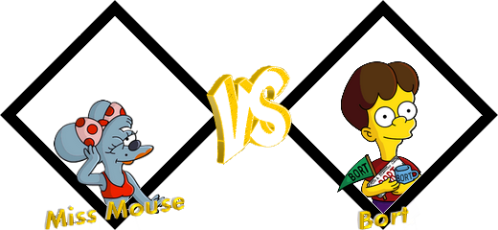 Tournoi Miss Mouse VS Bort