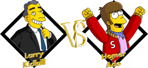 Tournoi Larry VS Homer