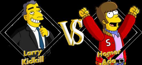 Tournoi Larry VS Homer
