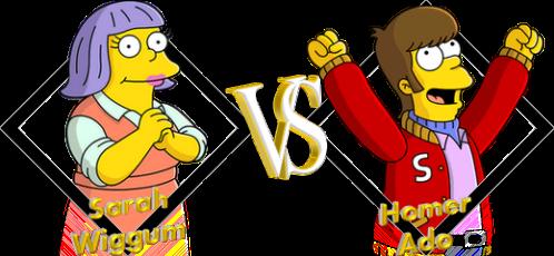 Tournoi Sarah VS Homer