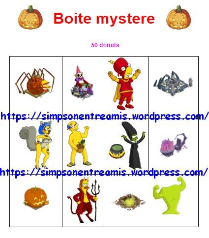 boite mystere