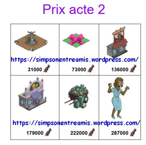 prix acte 2