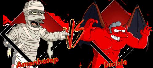 Tournoi Amenhotep VS Diable