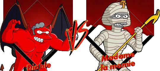 Tournoi Diable VS Madame la momie
