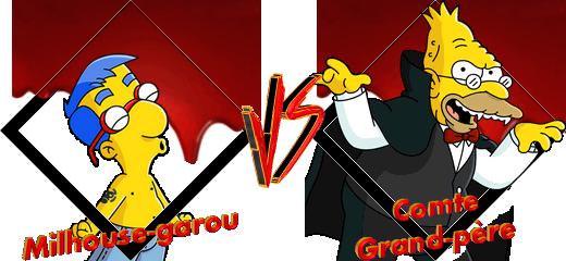 Tournoi Milhouse-garou VS Comte Grand-père