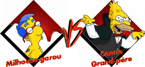 Tournoi Milhouse-garou VS Comte Grand-père