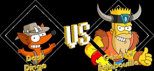 Tournoi Dash VS Écrabouille