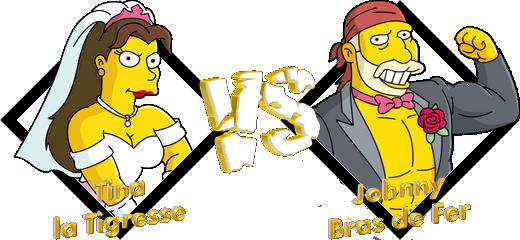 Tournoi Tina la Tigresse VS Johnny Bras de Fer