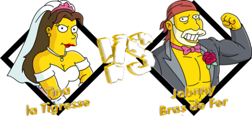 Tournoi Tina la Tigresse VS Johnny Bras de Fer