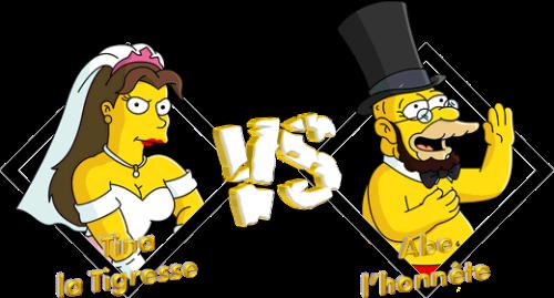 Tournoi Tina la Tigresse VS Abe l'honnête
