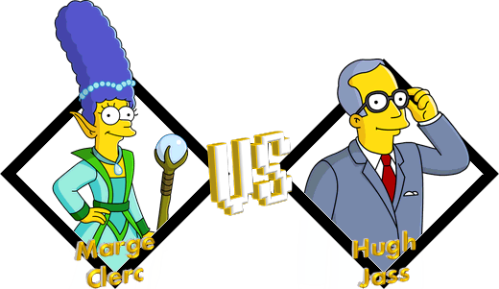 Tournoi Marge Clerc VS Hugh Jass