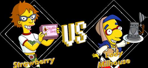 Tournoi Strawberry VS Lady Milhouse