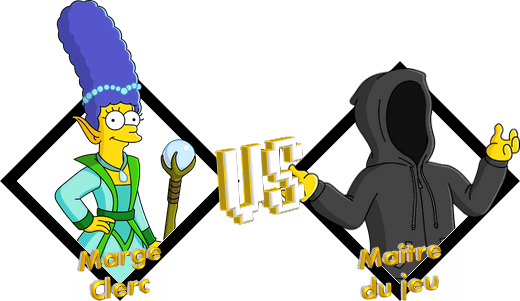 Tournoi Marge Clerc VS Maître du jeu